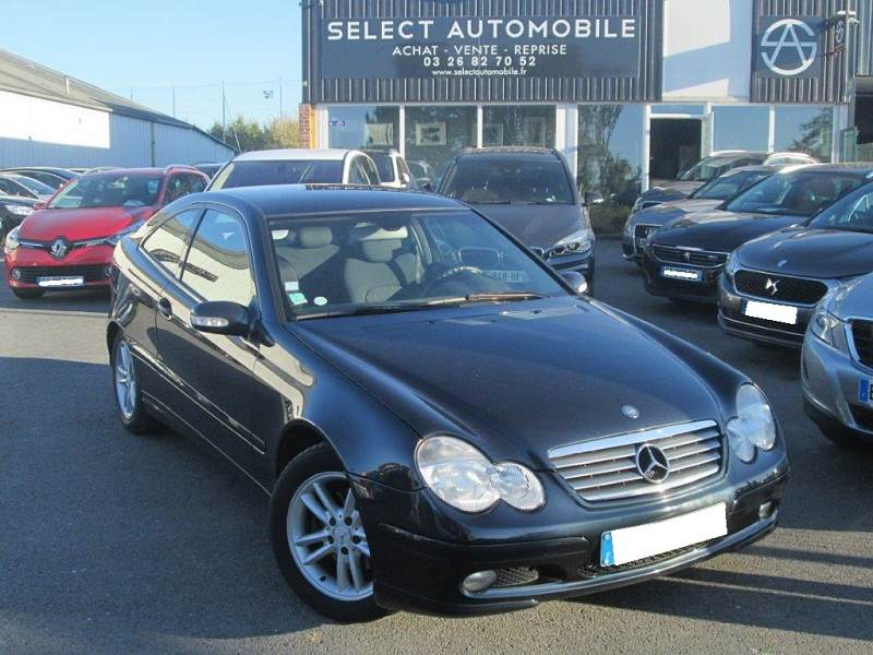 Mercedes classe c coupe sport 220 cdi 1ere main - Mercedes classe c cdi coupe sport occasion ...