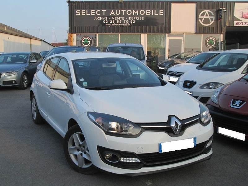 Renault Megane Iii 3 1 5 Dci 110 Energy Business Eco2 5 Portes 2015 78000km Suivi 9990 D Occasion En Vente A Reims Chez Select Automobile