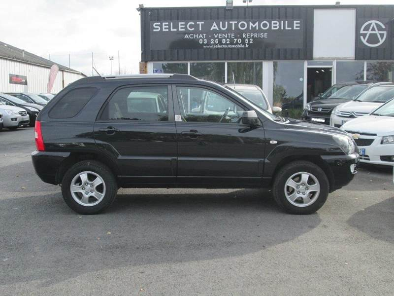 kia sportage ii 2 0 crdi 140 fap euro 2008 4x2 gps dvd 6990 d 39 occasion en vente reims. Black Bedroom Furniture Sets. Home Design Ideas