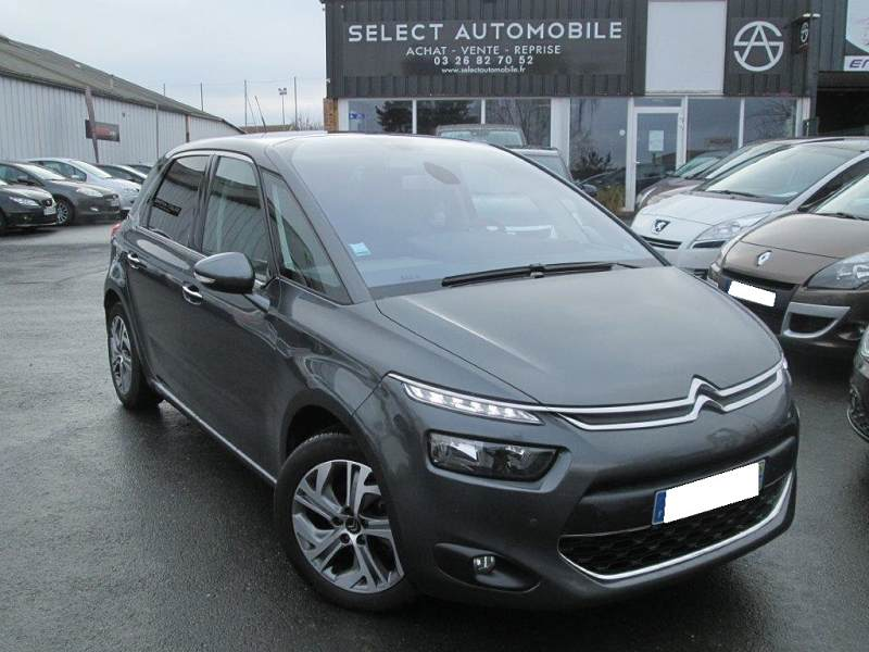 citroen c4 picasso ii 1 6 e hdi 115 intensive etg6 62700km 14990 d 39 occasion en vente reims. Black Bedroom Furniture Sets. Home Design Ideas