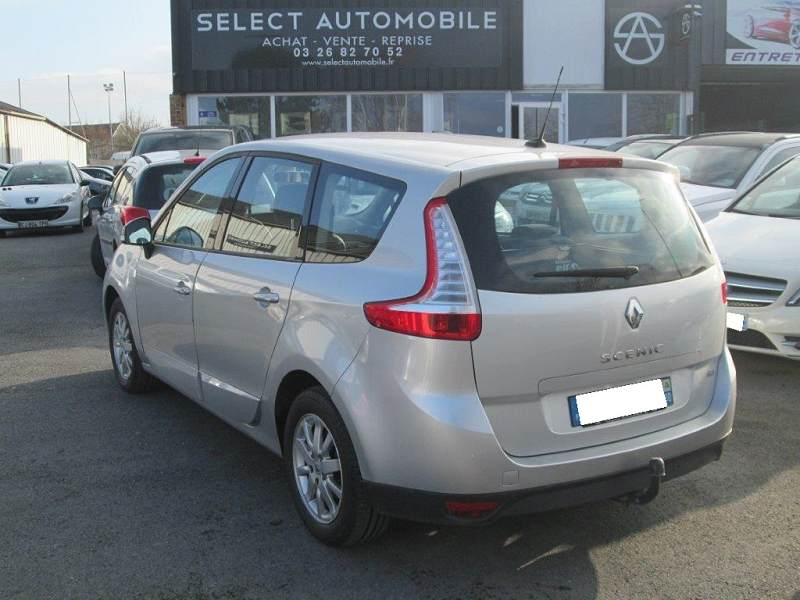 renault grand scenic iii 1 9 dci 130 fap exception euro5 7 places 2011 98000km 9990 d. Black Bedroom Furniture Sets. Home Design Ideas
