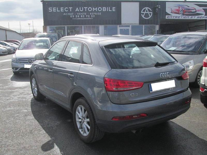 audi q3 2 0 tdi 140 ambiente 112500km 2012 17490 d 39 occasion en vente reims chez select. Black Bedroom Furniture Sets. Home Design Ideas