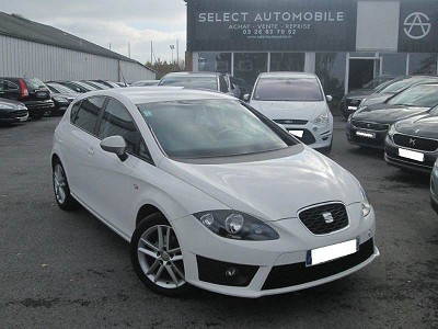 seat leon ii 2 1 4 tsi 125 fr 5 portes 1 ere main 2012 9990 d 39 occasion en vente. Black Bedroom Furniture Sets. Home Design Ideas